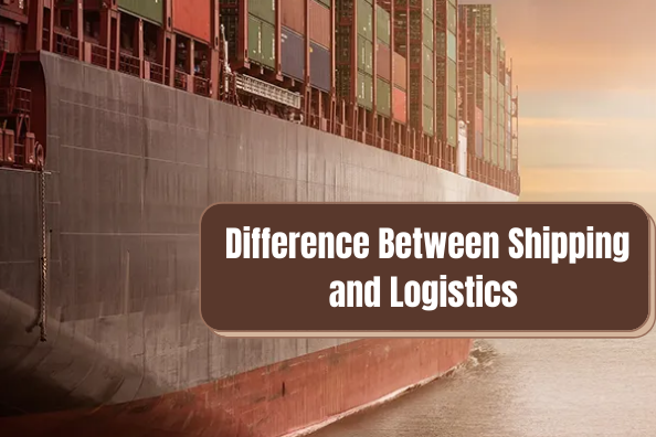 Difference Between Shipping and Logistics